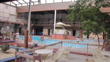 eisenhower indoor pool retractable roof