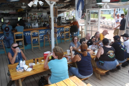 great dock bar at harrisons