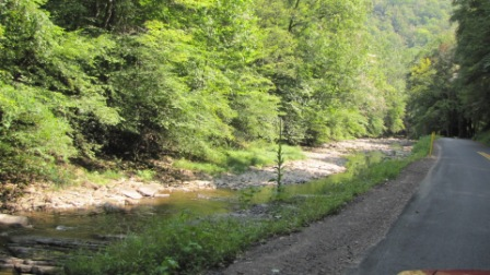 creeks and roads