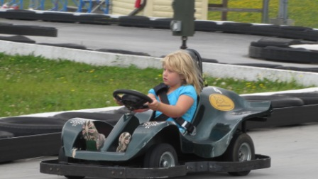 go karts at smileys fun zone