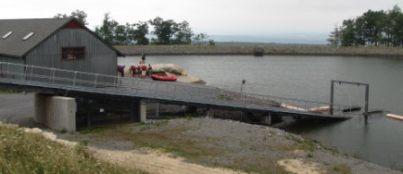 boat ramp at asci