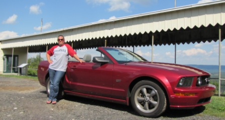 Diana and the stang at town hill