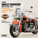 2012 harley-davidson archives collection wall calendar