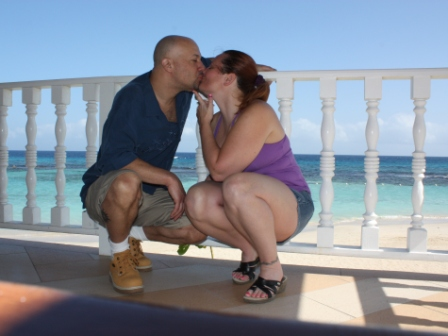 Jay and Di in Jamaica