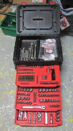 craftsman 255 pc tool set 3255