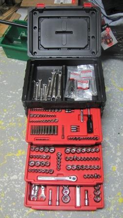 craftsman 255 pc tool set 3255