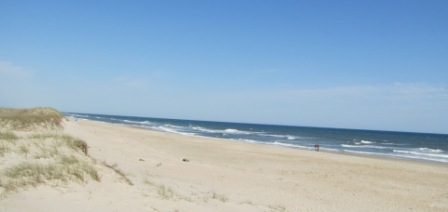 Ocracoke Island beaches
