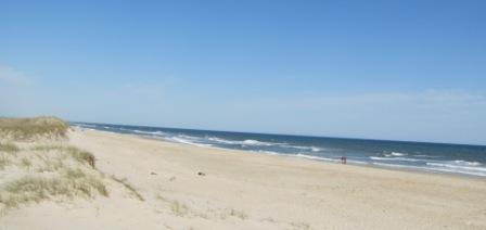 Ocracoke Island beaches