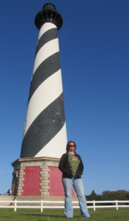 Diana and Cape Hatteras Lighthouse