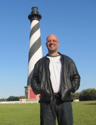 Jay at Cape Hatteras Lighthouse