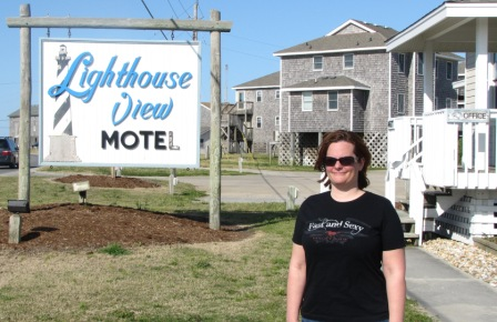 The lighthouse view motel and cottages in buxton, nc