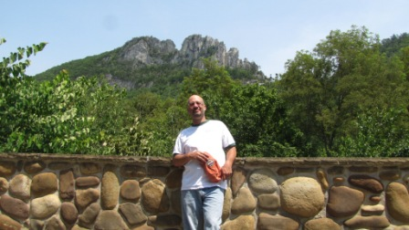 jay Green at Seneca rocks Vistor center