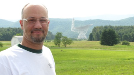 Jay and the Green bank Telescope