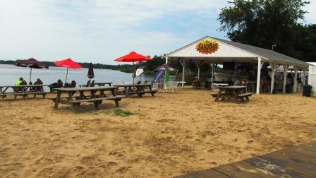 The Sandbar on the beach in Chestertown