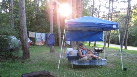 Mrs Road Captain Camping