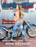 October 2012 east coast biker online